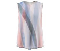 Damen Seiden-Bluse Ärmellos, multicolor