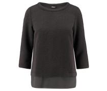 Damen Shirt Dreiviertelarm, schwarz