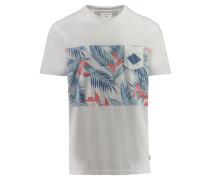 "Herren T-Shirt ""Faded Time"", wollweiss"