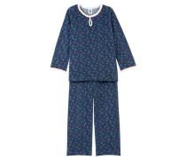 Mädchen Schlafanzug, Blau