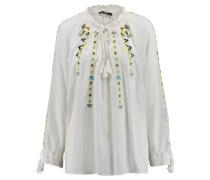 Damen Bluse Langarm, offwhite