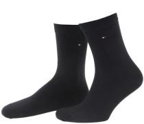 Damen Socke Classic im 2er-Pack, Blau