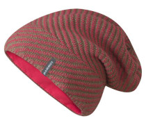 "Mütze / Strickmütze ""Kira Beanie"", rot"