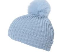 Mädchen Mütze Berretto, Blau