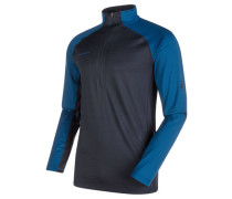 Herren Funktionsrolli / Funktionsshirt / Pullover Atacazo Zip Pull Men - Auslauffarbe / Auslaufartikel, marine