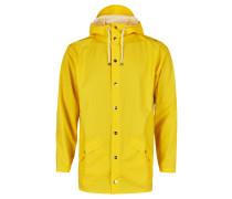 Damen und Herren Regenmantel, gelb