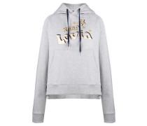 Damen Sweatshirt Gigi Hadid Slogan Hoodie, Grau