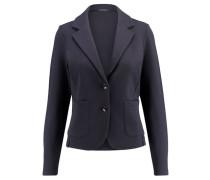 Damen Jersey-Blazer Classica Regular Fit, Blau