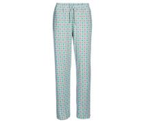 Damen Pyjamahose Babbet, Grün