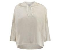 Damen Sweatshirt mit Kapuze, Beige