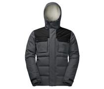 Herren Daunenjacke Banff Springs Jacket, Grau