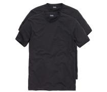 Herren T-Shirt - Doppelpack O-Neck Gr. SMXLXXLXXXL