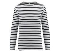 Damen Shirt Lesconil Langarm, Weiß
