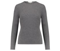 Damen Kaschmir-Pullover, kohle