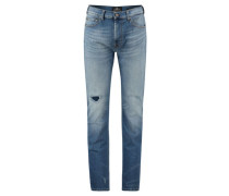 "Herren Jeans ""Kayden"" Slim Fit Straight, bleu"