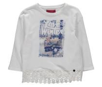 Mädchen Shirt Langarm, Weiß