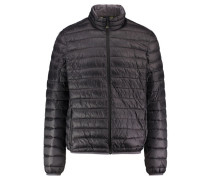 Herren Outdoor-Steppjacke Seattle, Schwarz