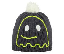 Kinder Mütze / Strickmütze Spooky Beanie, Grau