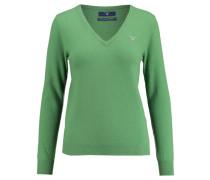 "Damen Pullover ""Super Fine Lambswool"", grün"