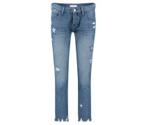 "Damen Jeans ""Ex Boyfriend Blue Star"", blue"
