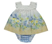 Mädchen Kleid mit passendem Höschen Gr. 74