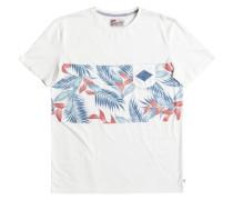 """Herren T-Shirt """"Faded Time"""", weiss"""