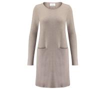 Damen Kaschmir-Kleid, Grau