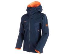 """Herren Bergsportjacke / Trekkingjacke """"Nordwand Advanced HS Hooded Jacket"""", nachtblau"""