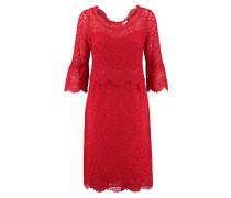 Damen Spitzenkleid, rot