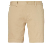 Herren Shorts Straight Fit, Braun