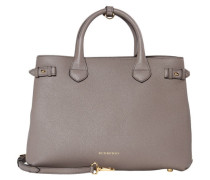 Damen Henkeltasche The Medium Banner, Grau