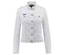Damen Jeansjacke, Weiß