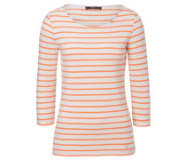 "Damen Shirt ""Colletta"" Dreivietelarm, orange"
