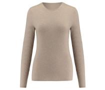 Damen Kaschmir-Pullover, nebel