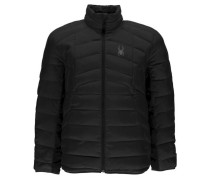 Herren Wintersportjacke Geared Full Zip, Schwarz