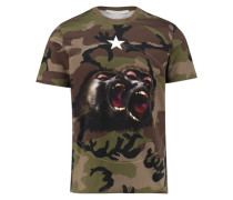 Herren T-Shirt, khaki