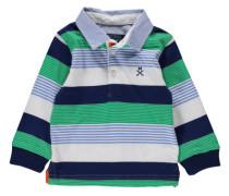 Jungen Baby Poloshirt Langarm, Grün