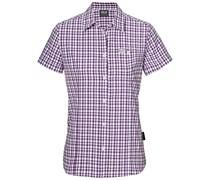 Jack Wolfskin: Damen Bluse Flaming Vent Shirt, bordeaux