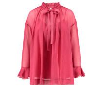 Damen Blusenkleid, koralle