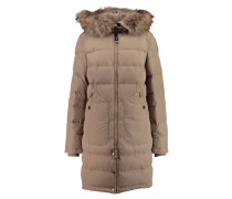 Damen Daunenjacke Light Long Bear, Beige