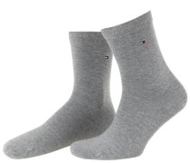 Damen Socke Classic im 2er-Pack, Grau