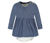 Mädchen Baby Kleid, Blau