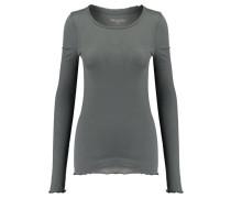 Damen Shirt Sally Langarm, Grün