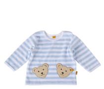 Mädchen und Jungen Sweatshirt, Blau