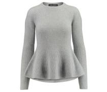 Damen Kaschmir-Pullover Aretha, Silber