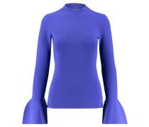 """Damen Pullover """"Flutter Sleeve Turtleneck"""", blau"""