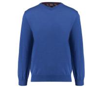 Herren Strick Pullover, Blau