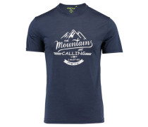 "Herren T-Shirt ""Tumba"", nachtblau"
