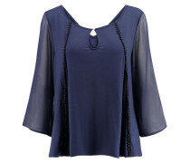 Damen Shirt Dreiviertelarm, Blau