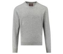 Herren Kaschmir-Pullover, Silber